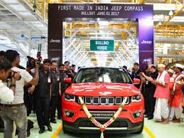 where is jeep made jeep compass made in india jeep compass unveiled times of