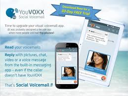 sprint visual voicemail apk youvoxx social voicemail apk free communication app for