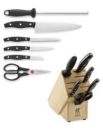 zwilling kitchen knives zwilling j a henckels signature 7 knife block set