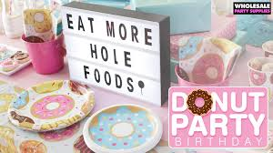 party supply wholesale donut party birthday ideas party ideas activities by wholesale