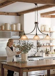 Lighting Over A Kitchen Island by Kitchen Lighting Artistic Pendant Light In Black Shade Countertop