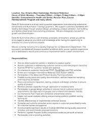 Quality Engineer Sample Resume Automotive Engineering Resume Example Augustais