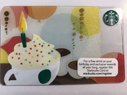 free birthday gift cards image collections free birthday cards starbucks gold card birthday gallery free birthday cards