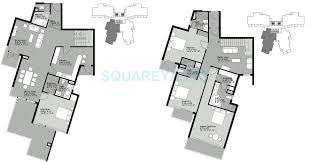 4 bhk 3425 sq ft penthouse for sale in unitech uniworld gardens 4 bhk 3425 sq ft penthouse floor plan