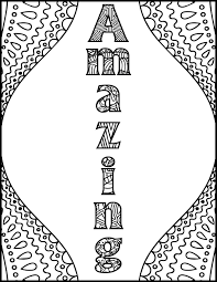 positive affirmations coloring pages for adults