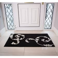 Cream And Black Rugs Black Rugs Inject Some Serious Style With A Black Rug Kukoon