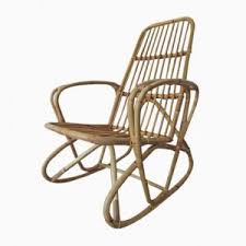Bamboo Rocking Chair Rocking Chair In Bamboo 1970s For Sale At Pamono