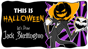 this is halloween let u0027s draw jack skellington youtube