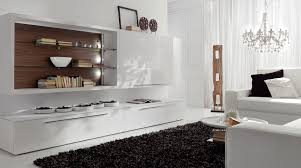 modern shelves for living room lavish modern white lacquer wooden living room wall units with