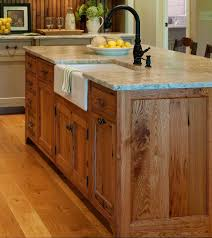 wood kitchen island substantial wood kitchen island with apron sink single handle