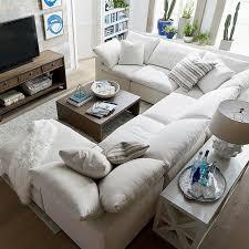 Sectional Sofas U Shaped Envelop Small U Shaped Sectional Bassett Home Furnishings