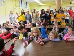Flag Day Songs Sta Students In Woodhaven Celebrate Our Flag