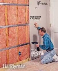 Sound Insulation Basement Ceiling by Soundproofing A Ceiling Ceilings Basements And Studio