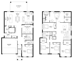 Floor Plan Two Storey by Aria 41 Double Level Floorplan By Kurmond Homes New Home