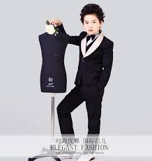 2015 fashion baby boys suits boys flower dress suits for