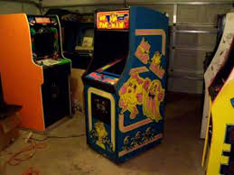 Ms Pacman Cabinet 1981 Bally Midway Ms Pacman Video Arcade Game Machine Youtube
