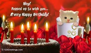 happy birthday wishes greeting cards free birthday cats and birthdays my favorite things happy birthday to you