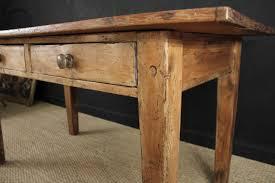 Pine Kitchen Furniture Two Drawer Pine Farmhouse Kitchen Table Gilboy U0027s