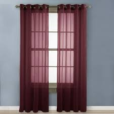 Sheer Maroon Curtains Maroon Sheer Curtains 6 Best 25 Burgundy Curtains Ideas On