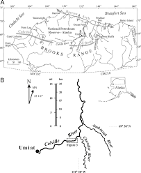 Map Of Alaska Rivers by Paleoenvironmental Reconstruction Of A Late Cretaceous Muddy