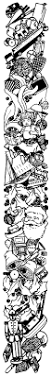 vintage christmas mistletoe black and white clip art christmas