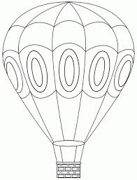 air balloon coloring pages getcoloringpages with air