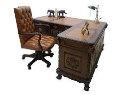 Eckschreibtisch Schreibtisch Partnerdesk Eckschreibtisch Antiker Stil Mahagoni