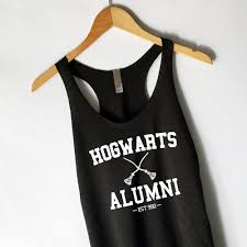 hogwarts alumni tank harry potter hogwarts alumni tank top in black hearts