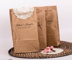 custom favor bags large wedding favor bags personalized gift paper bag custom