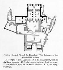 plan parthenon art antique grec pinterest