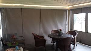 porch enclosure inside clear vinyl drop curtains kreider u0027s