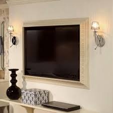 home interior frames tv frame ideas frame your tv and blend it in the home interior