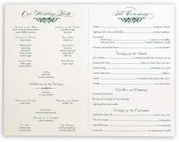 photo wedding programs vintage s garden and celtic wedding programs and