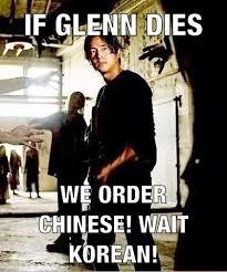 Glenn Walking Dead Meme - walking dead meme glenn korean memes comics pinterest