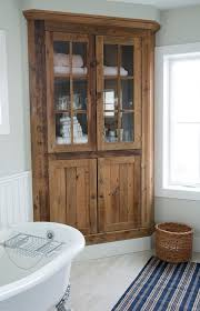 how to make a corner cabinet vanity best 25 bathroom corner cabinet ideas on pinterest at linen