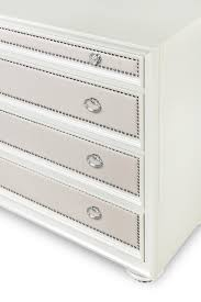Nail Trim For Upholstery Eight Drawer Dresser With Polyvinyl Upholstery And Nail Head Trim