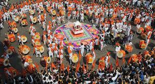 water gods and mango leaves india celebrates hindu new year