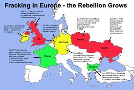 European Continent Map by Europe Against Fracking U2013 A Continent Says No Frack Off