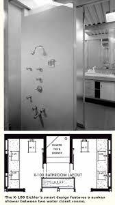 Eichler Floor Plan Bathrooms On The Rebound Eichler Network