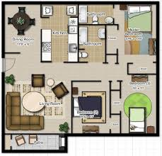 Bedroom Home Designs Low Bud Modern House 3 Design Plan
