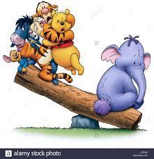 roo eeyore rabbit tigger winnie pooh u0026 lumpy pooh u0027s heffalump