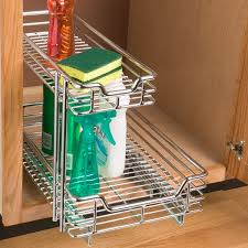 Under Cabinet Pull Out Shelf by Kitchen Cabinet Organizing Solutions That Actually Work
