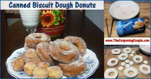 canned biscuit dough donuts quick easy and oh so good