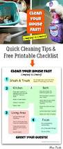 clean your house fast quick house cleaning tips