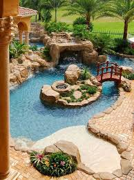 lazy river pool on home ideas 1