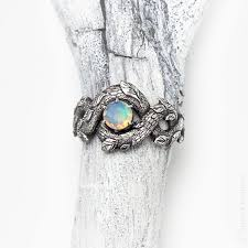 opal rings unique images Unique engagement ring opal ring opal promise ring for her etsy jpg