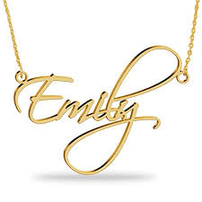 sterling silver personalized necklace images Personalized name necklace in 925 sterling silver custom name jpg