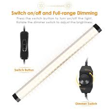 cree under cabinet lighting albrillo led under cabinet lighting dimmable cool white 6000k 12w