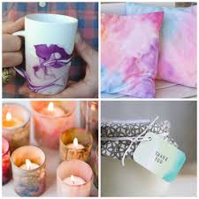 diy projects for spring water color m magazine