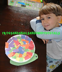 snail craft for kids fspdt